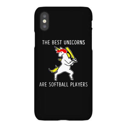 The Best Unicorns Are Softball Player Iphonex Case Designed By Pinkanzee