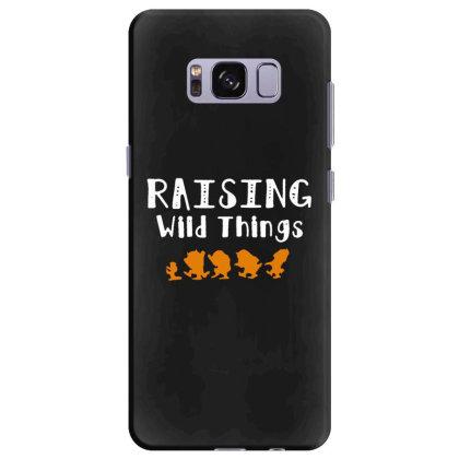 Raising Wild Things Samsung Galaxy S8 Plus Case Designed By Pinkanzee