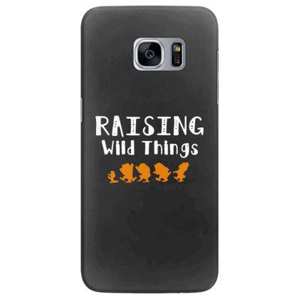 Raising Wild Things Samsung Galaxy S7 Edge Case Designed By Pinkanzee