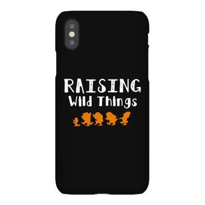 Raising Wild Things Iphonex Case Designed By Pinkanzee