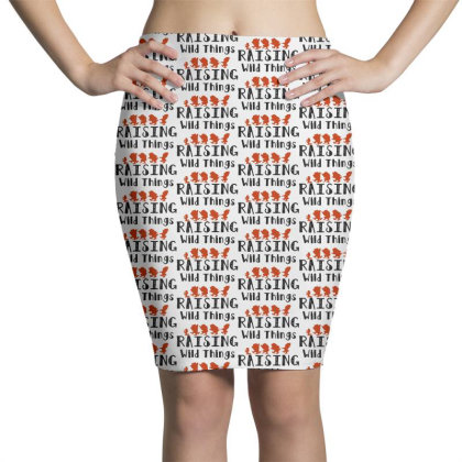 Raising Wild Things Hot Pencil Skirts Designed By Pinkanzee
