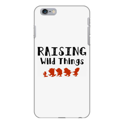 Raising Wild Things Hot Iphone 6 Plus/6s Plus Case Designed By Pinkanzee