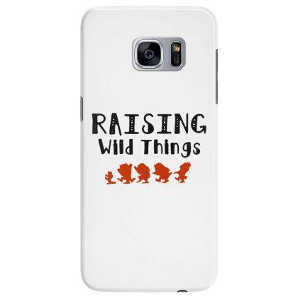 Raising Wild Things Hot Samsung Galaxy S7 Edge Case Designed By Pinkanzee