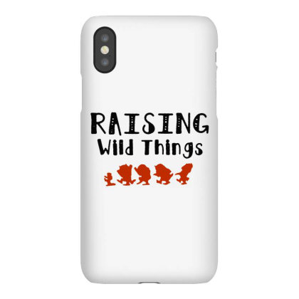 Raising Wild Things Hot Iphonex Case Designed By Pinkanzee