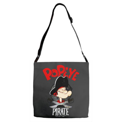 Goes Pirate Adjustable Strap Totes Designed By Pinkanzee