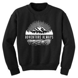 outdoors Youth Sweatshirt   Artistshot