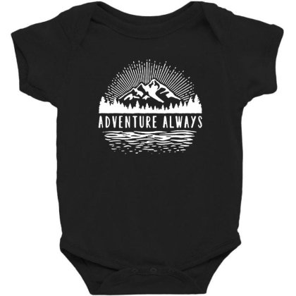 Outdoors Baby Bodysuit Designed By Pinkanzee