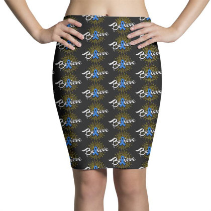 Believe Pencil Skirts Designed By Pinkanzee
