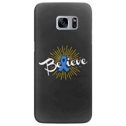 Believe Samsung Galaxy S7 Edge Case Designed By Pinkanzee
