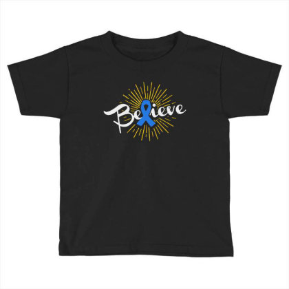 Believe Toddler T-shirt Designed By Pinkanzee