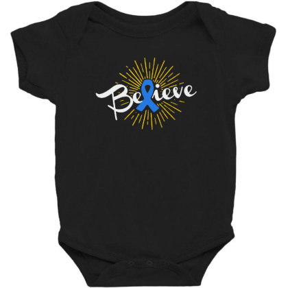 Believe Baby Bodysuit Designed By Pinkanzee