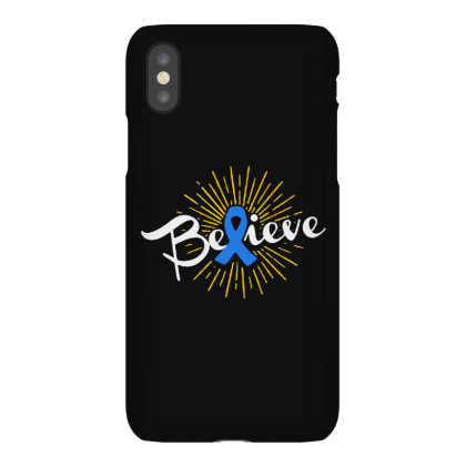 Believe Iphonex Case Designed By Pinkanzee