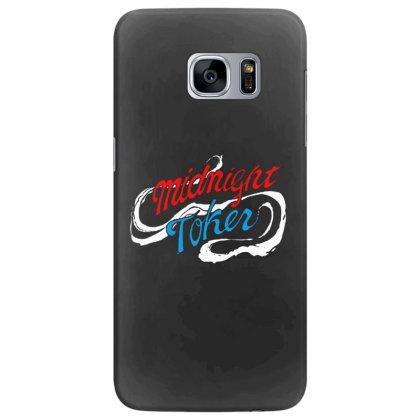 Midnight Samsung Galaxy S7 Edge Case Designed By Pinkanzee