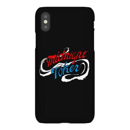 Midnight Iphonex Case Designed By Pinkanzee