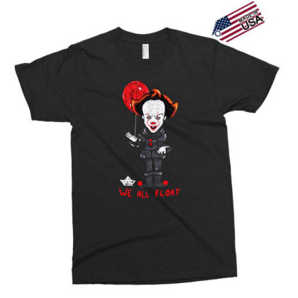 We All Float Exclusive T-shirt Designed By Pinkanzee