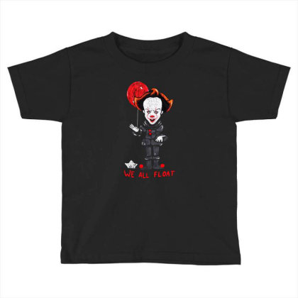 We All Float Toddler T-shirt Designed By Pinkanzee