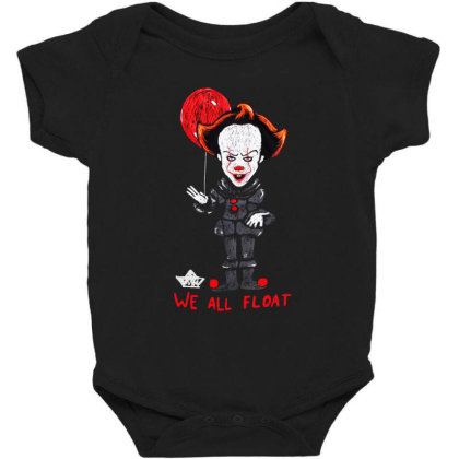 We All Float Baby Bodysuit Designed By Pinkanzee