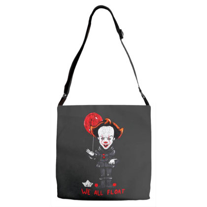 We All Float Adjustable Strap Totes Designed By Pinkanzee