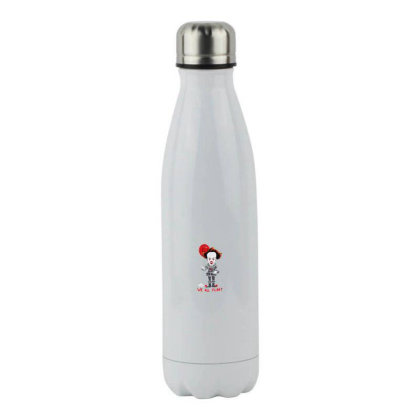 We All Float Stainless Steel Water Bottle Designed By Pinkanzee