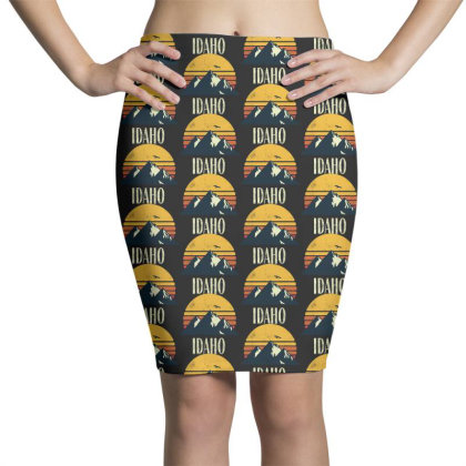 Retro Vintage Pencil Skirts Designed By Pinkanzee