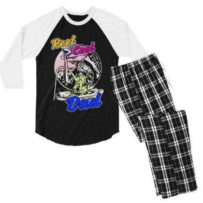 Cool Dad Men's 3/4 Sleeve Pajama Set Designed By Pinkanzee