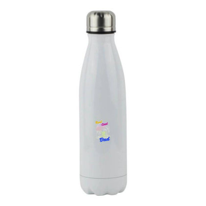 Cool Dad Stainless Steel Water Bottle Designed By Pinkanzee