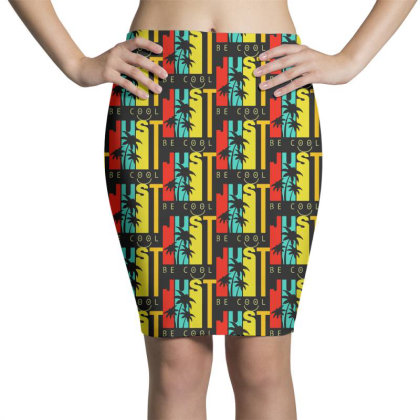 Just Be Cool Vintage Pencil Skirts Designed By Pinkanzee