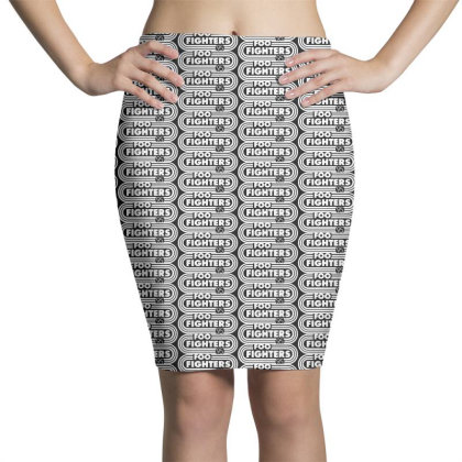 Foo White Style Pencil Skirts Designed By Pinkanzee