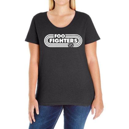 Foo White Style Ladies Curvy T-shirt Designed By Pinkanzee