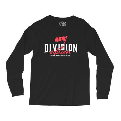 Division Long Sleeve Shirts Designed By Pinkanzee