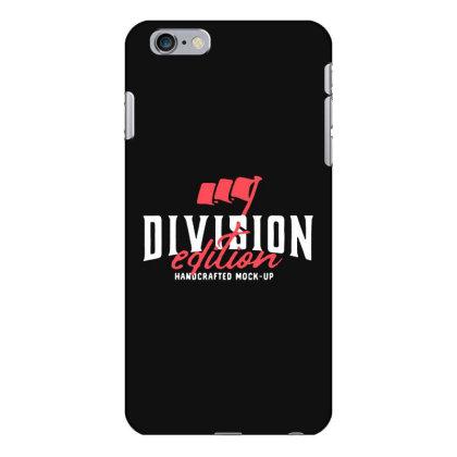 Division Iphone 6 Plus/6s Plus Case Designed By Pinkanzee