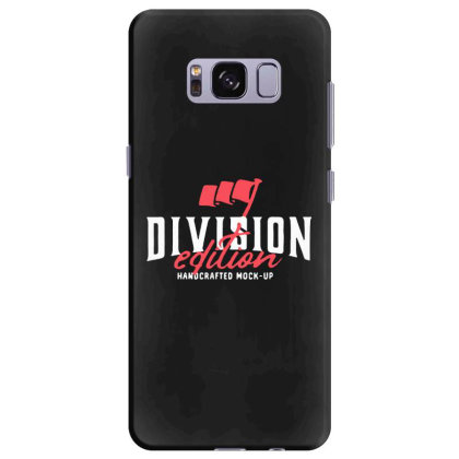 Division Samsung Galaxy S8 Plus Case Designed By Pinkanzee
