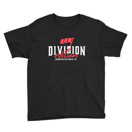 Division Youth Tee Designed By Pinkanzee