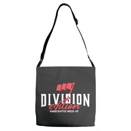 Division Adjustable Strap Totes Designed By Pinkanzee