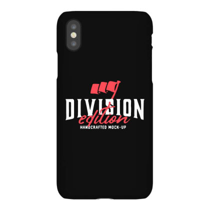 Division Iphonex Case Designed By Pinkanzee