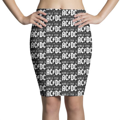 Acdc Live Pencil Skirts Designed By Pinkanzee