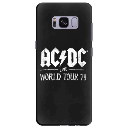 Acdc Live Samsung Galaxy S8 Plus Case Designed By Pinkanzee