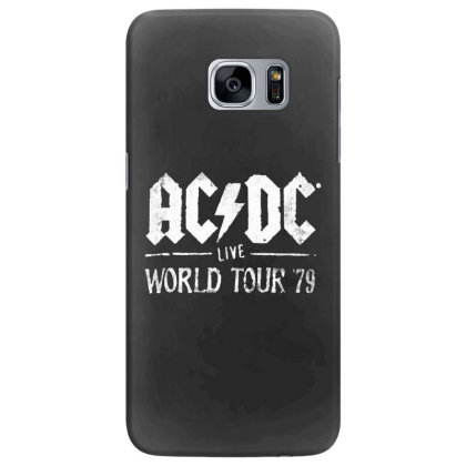 Acdc Live Samsung Galaxy S7 Edge Case Designed By Pinkanzee