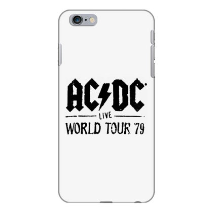 Acdc World Tour Iphone 6 Plus/6s Plus Case Designed By Pinkanzee