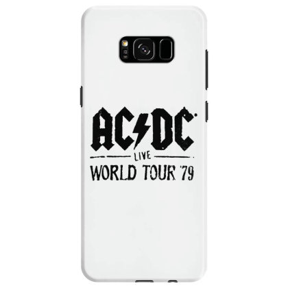 Acdc World Tour Samsung Galaxy S8 Case Designed By Pinkanzee