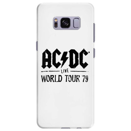 Acdc World Tour Samsung Galaxy S8 Plus Case Designed By Pinkanzee