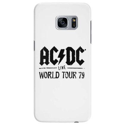 Acdc World Tour Samsung Galaxy S7 Edge Case Designed By Pinkanzee