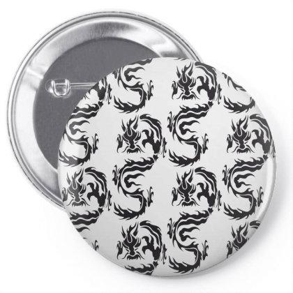 Dragon Pin-back Button Designed By Estore