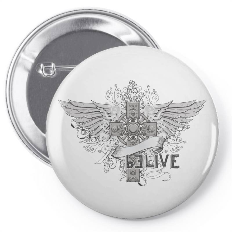 Belive Pin-back Button | Artistshot