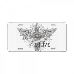 Belive License Plate | Artistshot