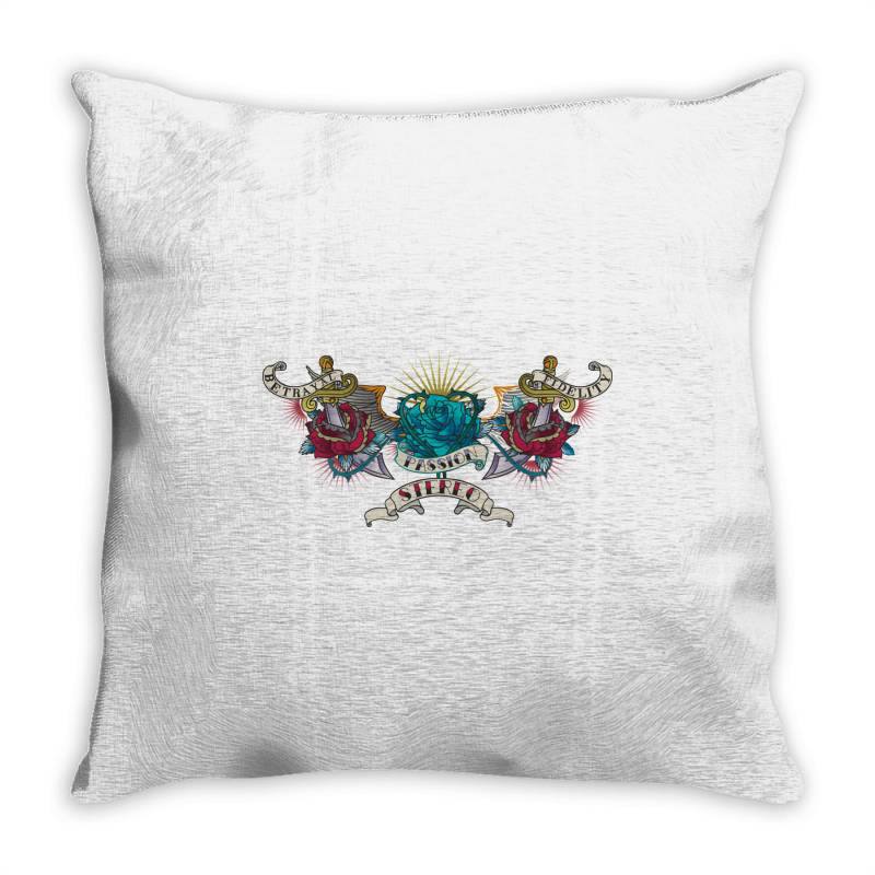Passion Stereo Throw Pillow | Artistshot
