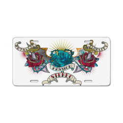 Passion Stereo License Plate | Artistshot