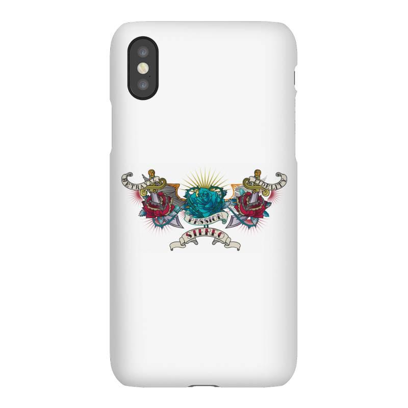 Passion Stereo Iphonex Case | Artistshot