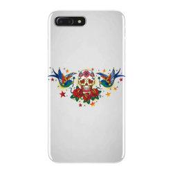 Skull, Birds, Rose iPhone 7 Plus Case | Artistshot