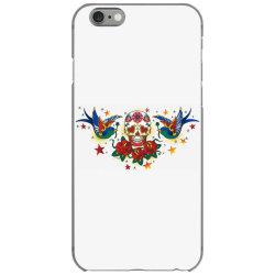 Skull, Birds, Rose iPhone 6/6s Case | Artistshot